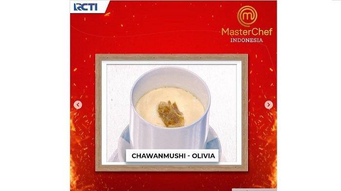 Hidangan chawanmushi Olivia