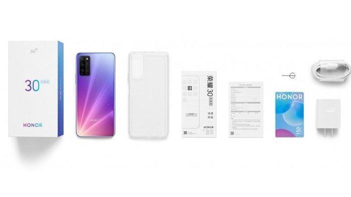 Harga dan Spesifikasi Hape Honor 30 Lite, Diklaim sebagai Smartphone 5 G dengan Harga Terjangkau