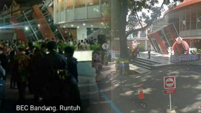 Hoax Foto BEC Bandung Runtuh karena Gempa Banten, Lihat Penampakan Asli Gedungnya