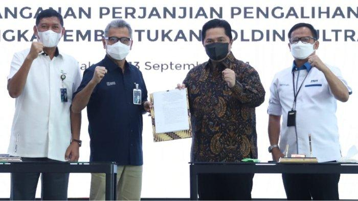 Catatkan Sejarah UMKM Indonesia, BRI Resmi Menjadi Induk Holding BUMN Ultra Mikro