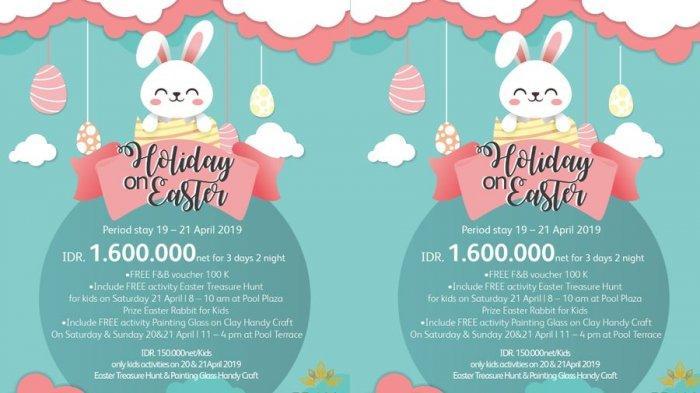 Prama Grand Preanger Hotel Bandung Sediakan Holiday On Easter, Paket Liburan yang Menarik