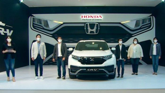 Honda CR-V Faceclift yang resmi meluncur di Indonesia.