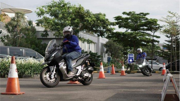 Foto Ilustrasi diambil pada saat Honda Premium Matic Day yang diselenggarakan di Bandung sebelum Pandemi Covid-19