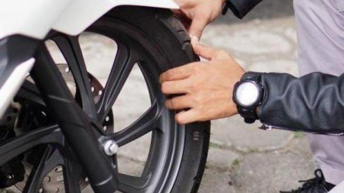 Usia pakai ban motor mempengaruhi kenyamanan dalam berkendara