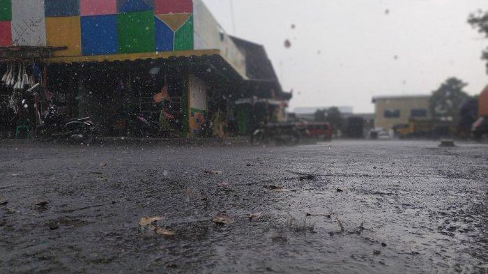 Giliran Kota Cimahi Diguyur Hujan, Berikut Kawasan yang Diguyur Hujan Sore Ini