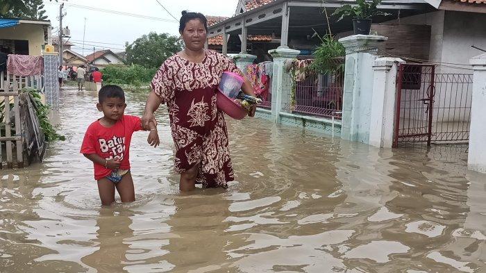 UPDATE Banjir di Indramayu, Jumlah Pengungsi Sudah Mencapai 78.912 Jiwa