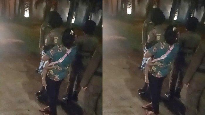 Mamah Muda Bawa Balita dengan Pria Bukan Suami di Kamar Hotel Terjaring Razia, Anaknya Suka Menjerit