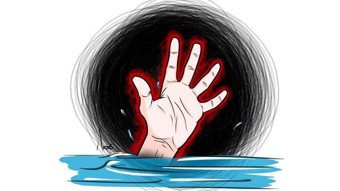 Terpeleset Saat Seberangi Jembatan Gantung, Pemuda Asal Cirebon Hanyut di Sungai Cimanuk Sumedang