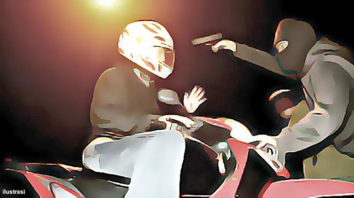 Kisah Pilu Driver Ojol yang Jadi Korban Begal, Tengah Malam Dapat Pesanan Offline, Motor Dirampas