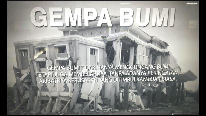 Indonesia Wilayah Rawan Bencana, ''Bukan Gempa Bumi yang Membunuh Orang, tapi Bangunan Rumahnya''