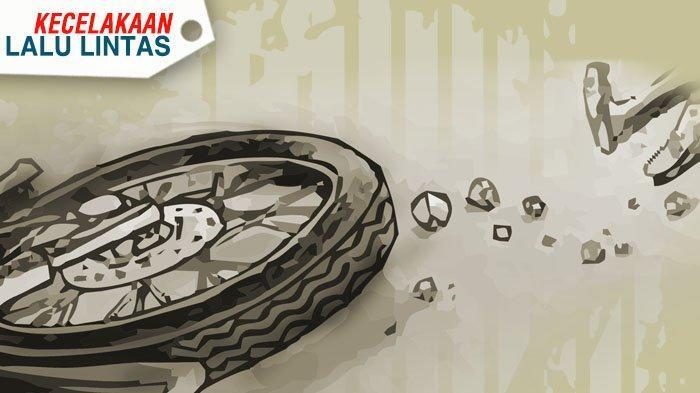 Gagal Menyalip, Seorang Pengendara Motor Tewas Terlindas Truk di Padalarang Bandung Barat