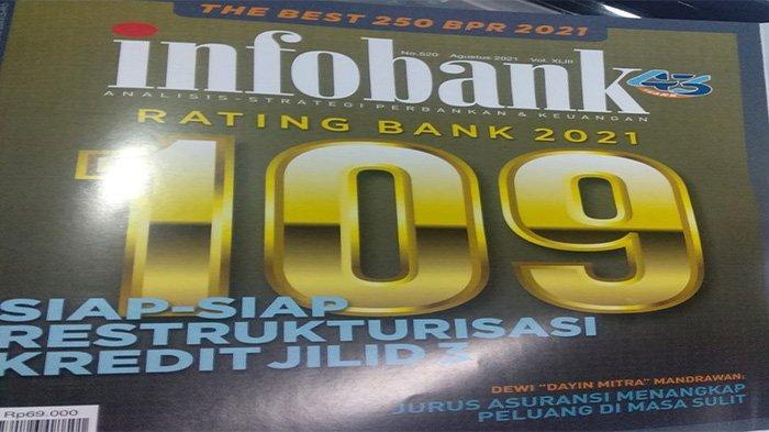 Bank bjb Raih Bank Go Public Terbaik Versi InfoBank, Kalahkan 42 Bank Lain