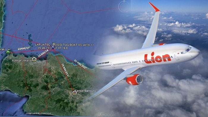 KNKT: Sebelum Jatuh, Lion Air PK-LQP Sudah Mengalami Enam Masalah