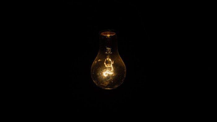 Ilustrasi mematikan lampu untuk Earth Hour.