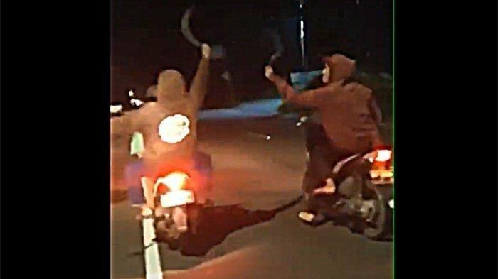 PERANG ANTARGENG MOTOR di Purwakarta, Acungan Senjata Tajam Dibalas Bacokan, 1 Tewas, 2 Luka Berat