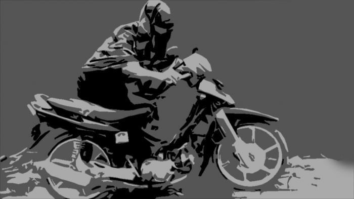 Ditinggal Potong Rambut, Motor Dodi Digondol Maling, Beruntung Dipergoki Warga, Pelaku Babak Belur