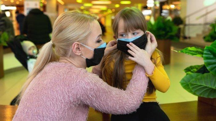 Kasus Baru Masih Muncul, Begini Tips dan Rekomendasi Pemakaian Masker pada Anak, Cegah Covid-19