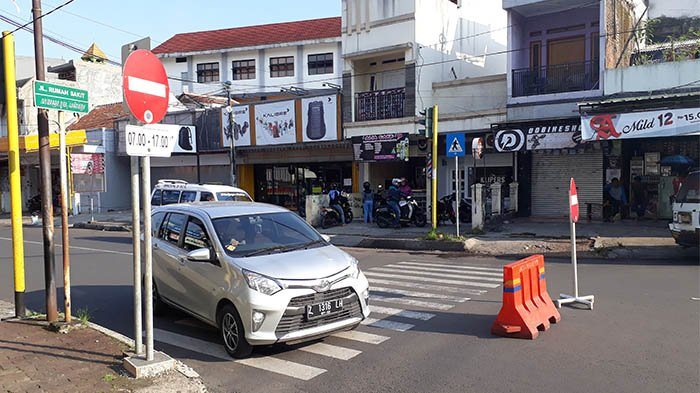 Dishub Garut Rekayasa Jalan di Pusat Kota Mulai Besok, Jalan Ahmad Yani dari BJB ke Rutan Searah
