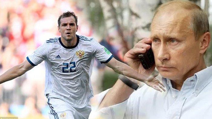 Ada 'Bisikan' Vladimir Putin di Balik Kemenangan Rusia Atas Spanyol di Piala Dunia 2018