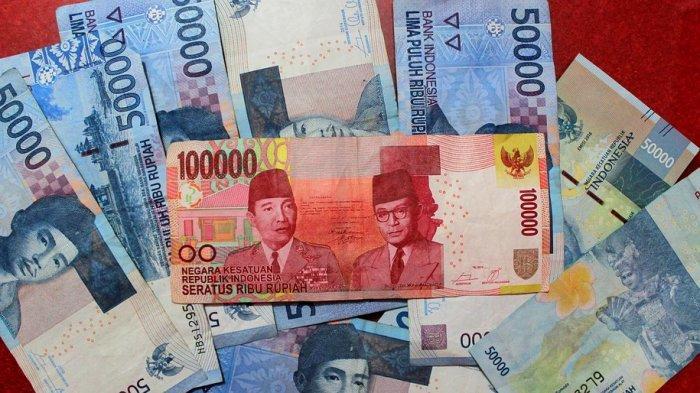 Ilustrasi uang THR