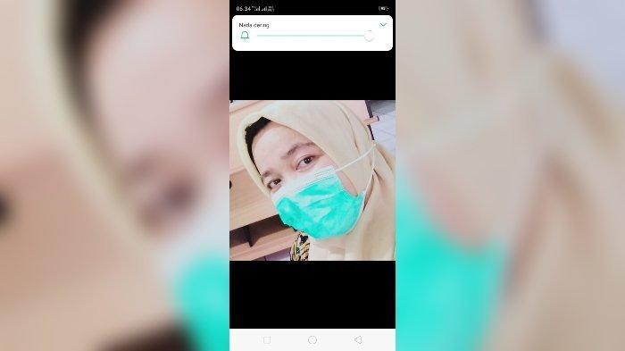 Beredar Video Terakhir Imas Sehari Sebelum Tewas Ditusuk Suami, Bidan Periang Itu Terlihat Tersenyum
