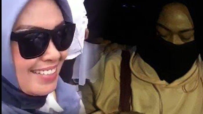 Tebar Senyum saat Rekam Video Penggal Kepala Jokowi, Ina Lesu saat Digelandang ke Mapolda Metro Jaya