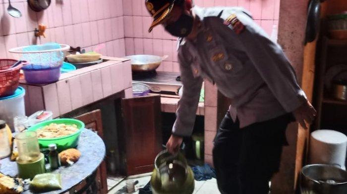 Sepasang Suami Istri Renta di Indihiang Kota Tasik Tersambar Bola Api, Gara-gara Tabung Gas Bocor