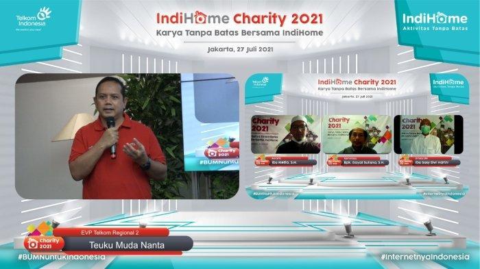 IndiHome Alokasikan Bantuan Hingga Rp420 juta di Kuartal II 2021