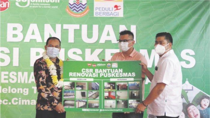 INDOMARET & BAYGON Bekerjasama Dengan Pemkot Cimahi Lakukan Renovasi Puskesmas Kec. Melong Cimahi