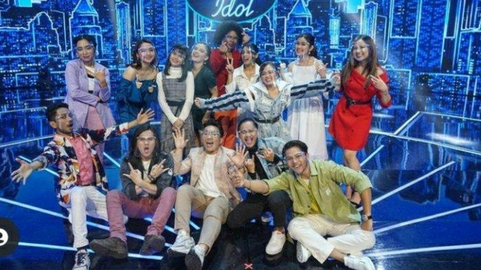 Hasil Indonesian Idol Final Showcase, Aldrin Tereliminasi, Ini 14 Kontestan yang Lolos ke Spekta