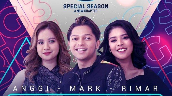 Live Streaming Indonesian Idol Road to Grand Final, Ini Lagu yang akan Dibawakan Mark, Rimar & Anggi