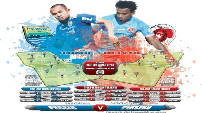 Prediksi Susunan Pemain Persib Bandung vs Perseru Serui, Jonathan Bauman Diragukan Tampil
