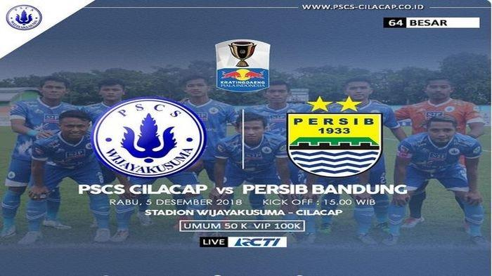 Kalahkan PSCS, Persib Bandung Melaju ke Babak 32 Besar, Begini Jalannya Pertandingan