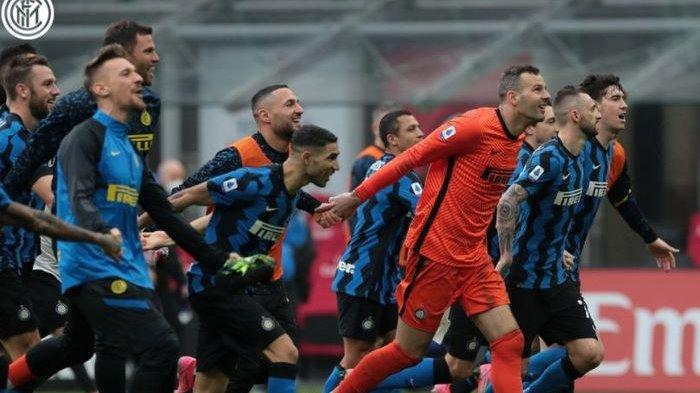 Inter Milan Sah Raih Scudetto Liga Italia, Atalanta Imbang Lawan Sassuolo