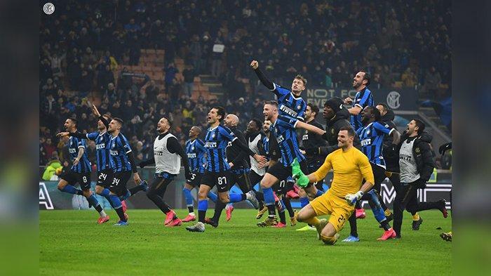 Half Time, Inter Milan Unggul 4-1 Atas Benevento Pemain Anyar Cetak Gol, Link Live Streaming Babak 2