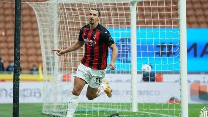Masih Absen di Serie A, Striker AC Milan Zlatan Ibrahimovic Targetkan Tampil Lawan Klub Ini