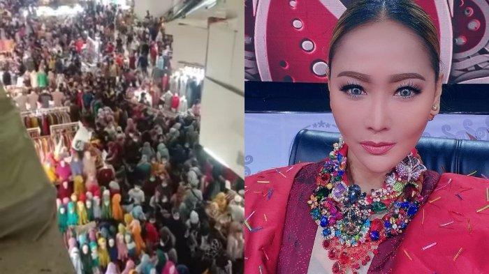 Viral Pasar Tanah Abang Ramai Pemburu Baju Lebaran, Inul Daratista Curhat Ruginya Diserang Covid-19