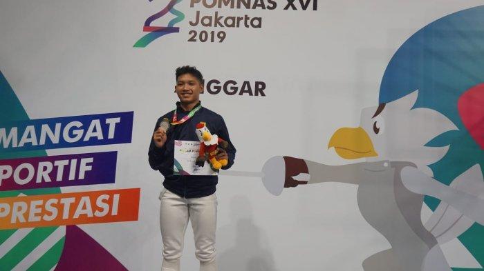 Atlet Anggar Asal Sumedang Optimis Sabet Dua Medali Emas di PON Papua