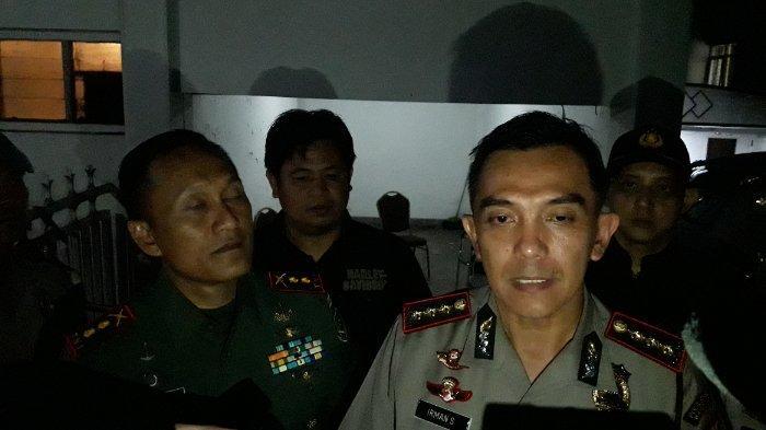 Kapolrestabes Bandung dan Dandim Patroli Pastikan Kondusivitas Penghitungan Suara Pemilu 2019