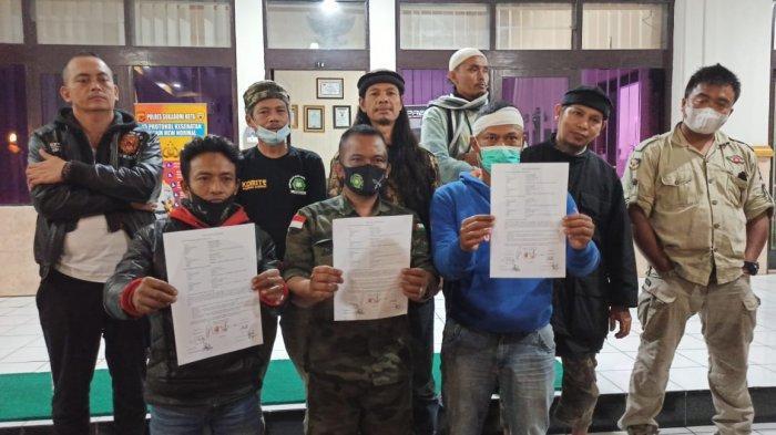 Akhir Pertikaian Ormas dan Kelompok Debt Collector di Sukabumi, Kedua Pihak Dikumpulkan di Polres