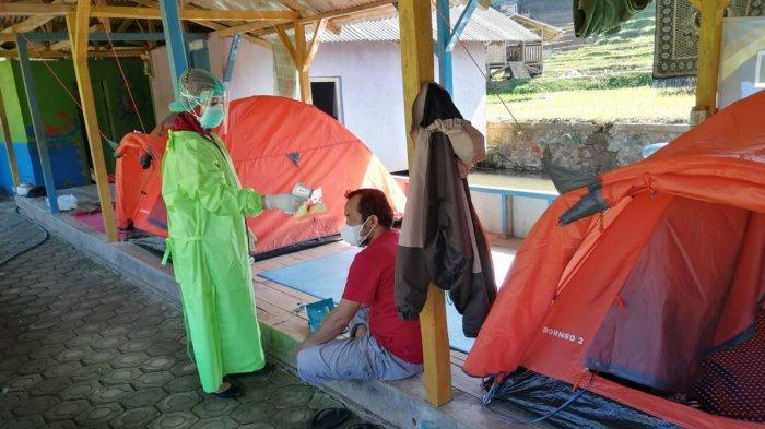 Unik, Tempat Isolasi Mandiri di Garut Ini Berupa Tenda dan Ada di Tempat Wisata Alam, Bikin Betah