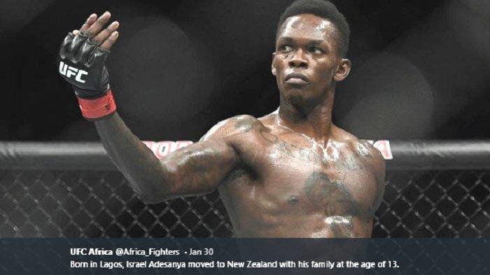 Belum Terkalahkan, Petarung MMA Israel Adesanya Akui Bisa Tumbang Lawan Jan Blachowics