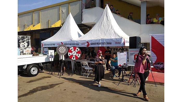 Grebek Pasar Isuzu di Pasar Jagasatru, Masyarakat Bisa Ikut Lomba Karaoke
