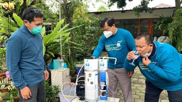 ITB Kirim Alat Penyaring Air dan Tim Trauma Healing untuk Korban Gempa Mamuju dan Majene