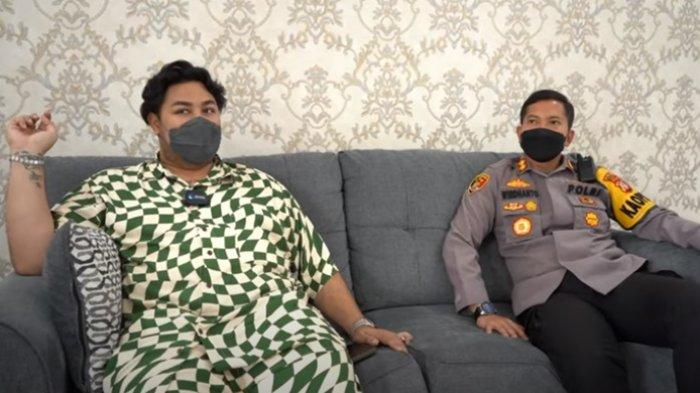 Keakraban Ivan Gunawan dan Kapolres Garut, Saling Lempar Candaan, Igun Minta Izin Bangun Masjid
