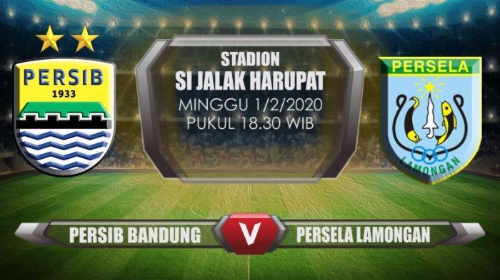 H-2 Persib vs Persela, Tim Tamu Belum Didampingi Sang Pelatih, Tanda-tanda Tuan Rumah Bakal Menang?