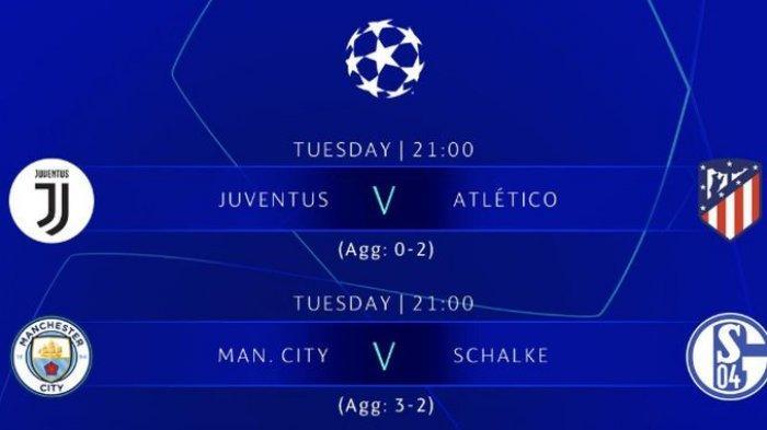 Jadwal Liga Champions:JuventusvsAtletico Madrid danBayern Muenchen vsLiverpool Live di RCTI