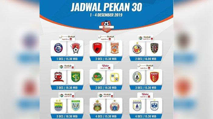 Jadwal Liga 1 2019 Hari Ini, Bali United Bisa Pesta Juara, Persib Bandung Harap 3 Tim Tersandung