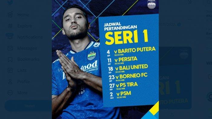 Jadwal Persib Bandung Selanjutnya, Ada Derbi Jabar Lawan Persikabo, Live Indosiar Pukul 19.00