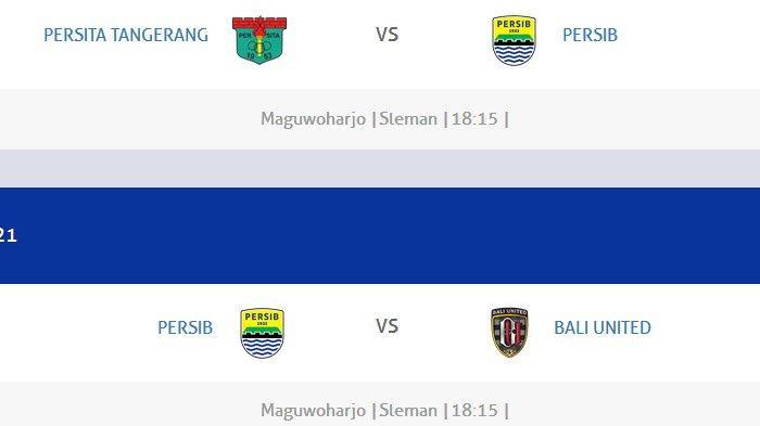 INI Jadwal Lengkap Persib Bandung di Piala Menpora, Bobotoh Wajib Ingat, Live di Indosiar